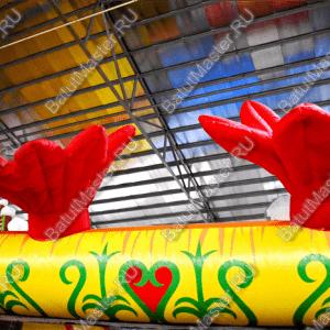 """Надувной Батут """"Нюргун Боотур"""", размер 14*10*7.5 м"""