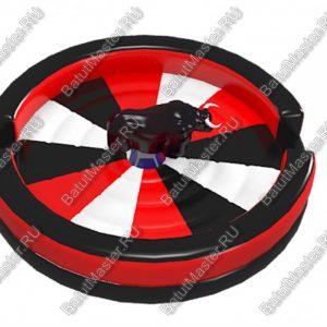 3D модель батута «Родео», круглый, 6*6*3 м