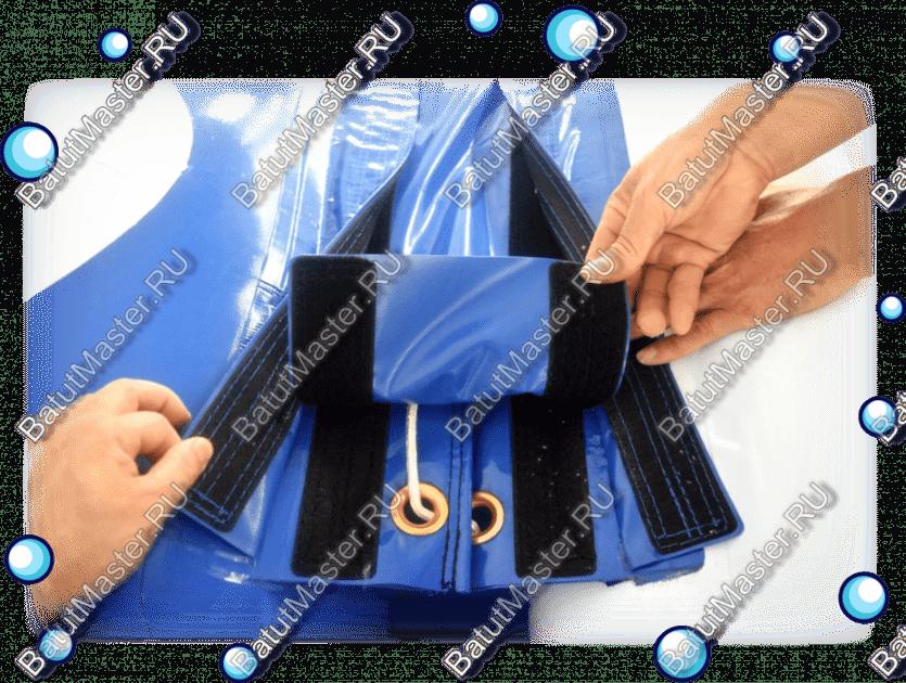 Соединение с помощью шнуровки и липучки