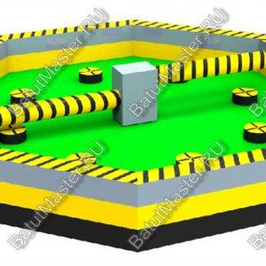 Надувная игра «Увернись от палки»