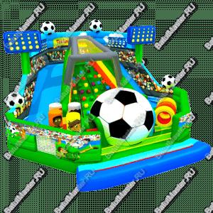"Надувной батут ""Футбол"", размер 10*10*6 м"