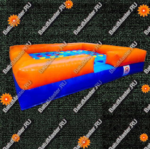 """Интерактивная надувная игра """"Твистер"""""""