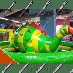"""Надувной батут """"Динозавр-качеля"""", 5*5*2.5 м"""