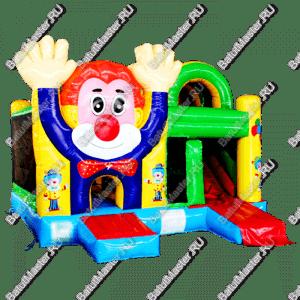 """Надувной батут """"Добрый клоун"""" 5*5*3.5 м"""