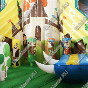 "Надувной батут ""Традиции Татарстана"", размер 7*7*6 м"