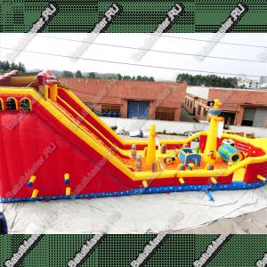 """Надувной корабль """"Покоритель морей"""", размер 18*8*7 м"""