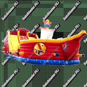 """Надувной корабль """"Покоритель морей"""""""