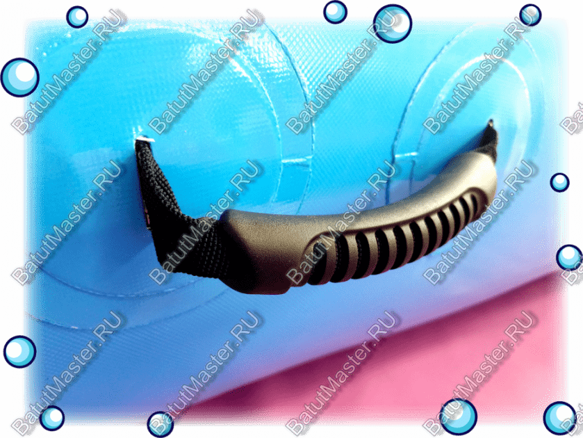 Ручка из нейлонового ремня покрытого пластмассой