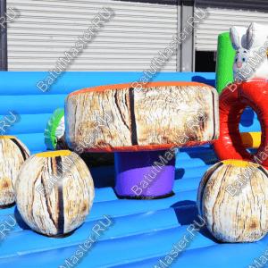 "Надувной батут ""Дино-городок"" размер 15x15х6 м"