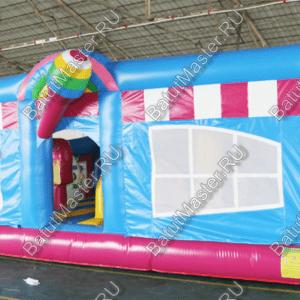 """Надувной батут """"Мороженое"""", размер 8 6 4 м"""