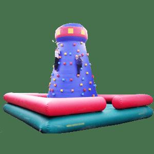 Надувные скалодромы