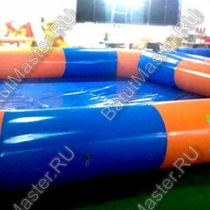 """Надувной бассейн """"Полосатик"""", размер 6x6x0.65 м."""