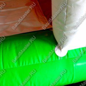 """Надувной батут """"Слоник в джунглях"""" с двумя лесенками 6x5x5.5 м."""