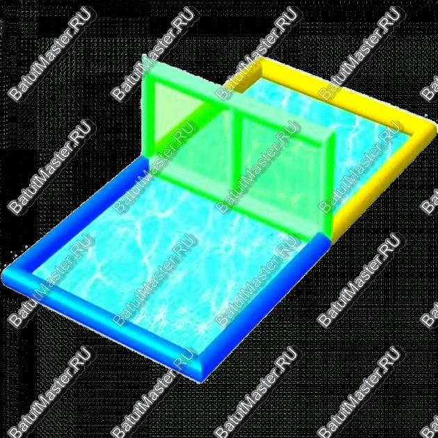 """Водный аттракцион """"Акваволейбол"""", размер 11.5*5.5*1.6"""