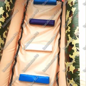 Надувная полоса препятствий «Патриот» 24*3*5 м