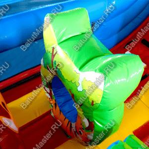 """Коммерческий надувной батут """"В Кругу Друзей 2"""" 10x6x6"""