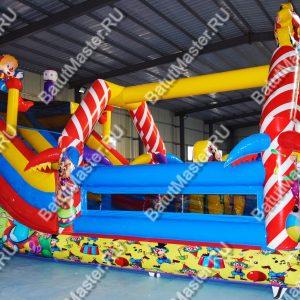 Батут «Цирковое шоу», 8*4*5 м