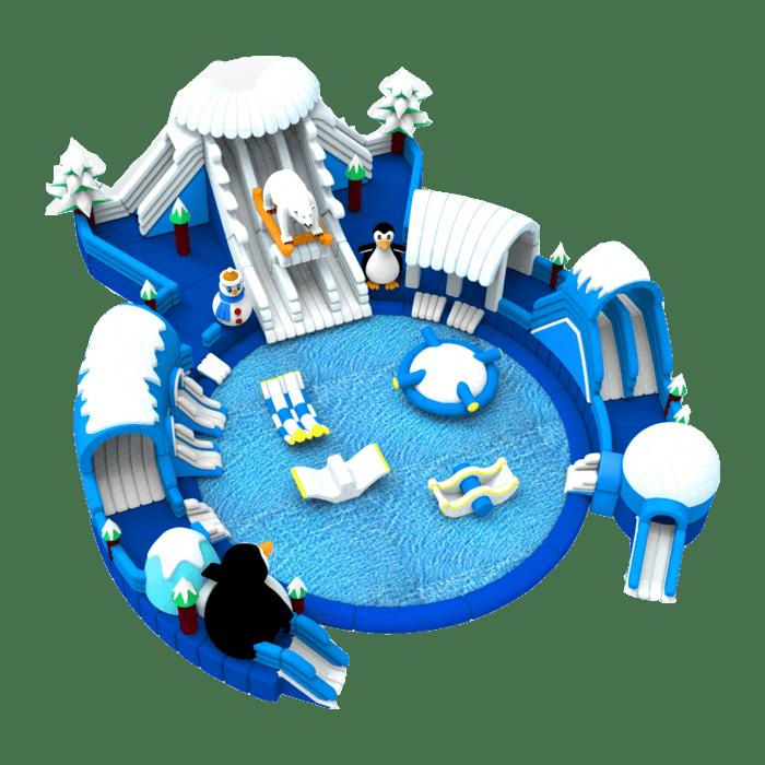 Наземные аквапарки и водные горки